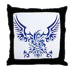 tribal eagle Throw Pillow