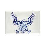 tribal eagle Rectangle Magnet (100 pack)