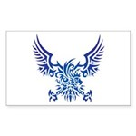 tribal eagle Sticker (Rectangle 10 pk)