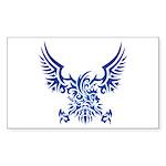 tribal eagle Sticker (Rectangle 50 pk)