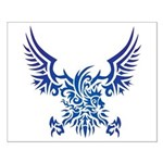 tribal eagle Small Poster
