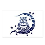 tribal owl Postcards (Package of 8)