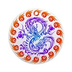 tribal ryuu Ornament (Round)