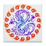 tribal ryuu Tile Coaster
