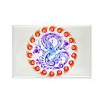 tribal ryuu Rectangle Magnet (100 pack)