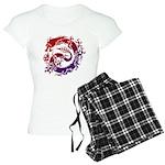 tribal dragon Women's Light Pajamas