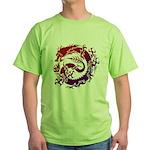 tribal dragon Green T-Shirt