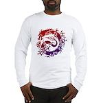 tribal dragon Long Sleeve T-Shirt