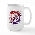 tribal dragon Large Mug