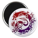 tribal dragon Magnet