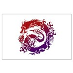 tribal dragon Large Poster