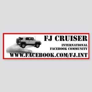 FJ Cruiser Bumper Sticker