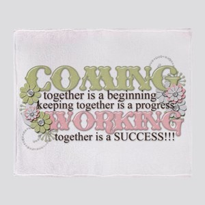Together Throw Blanket