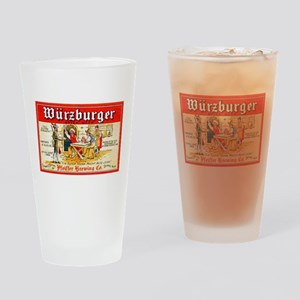Michigan Beer Label 7 Drinking Glass