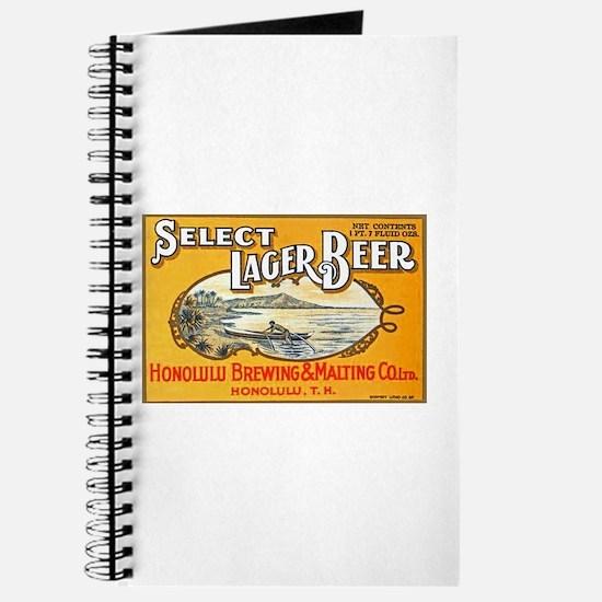 Hawaii Beer Label 1 Journal