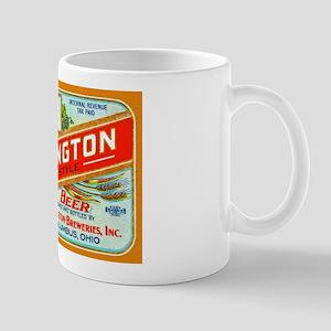 Ohio Beer Label 2 Mug