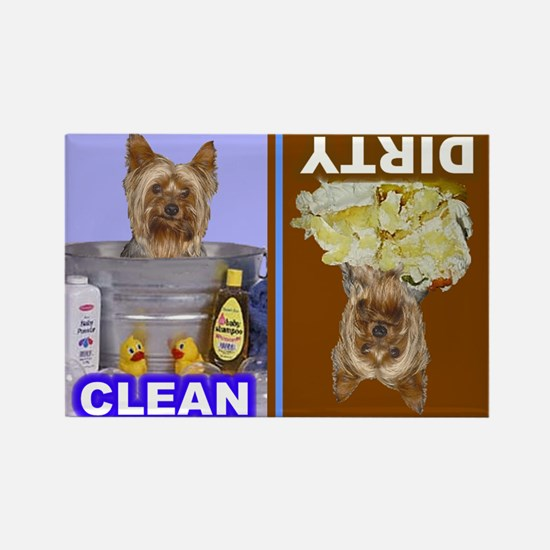 Dishwasher -RecMag -Yorkie,PC Magnets