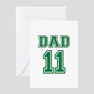 Dad 2011 Greeting Card