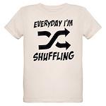 Everyday I'm Shuffling Organic Kids T-Shirt