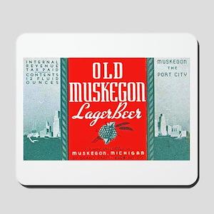 Michigan Beer Label 3 Mousepad
