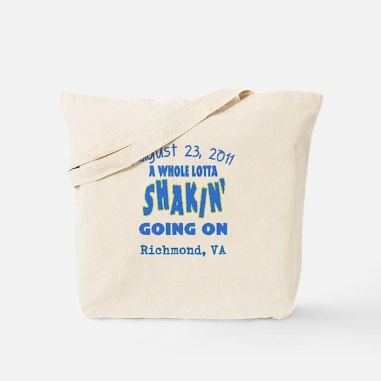 Customizable East Coast Earthquake Tote Bag