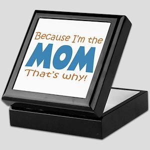 Because I'm the Mom Keepsake Box