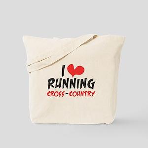 I heart (love) running CC Tote Bag