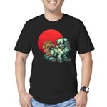 shishi Men's Fitted T-Shirt (dark)