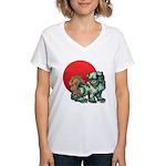 shishi Women's V-Neck T-Shirt