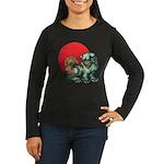 shishi Women's Long Sleeve Dark T-Shirt