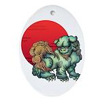 shishi Ornament (Oval)