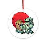 shishi Ornament (Round)