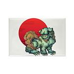 shishi Rectangle Magnet (100 pack)