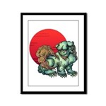 shishi Framed Panel Print