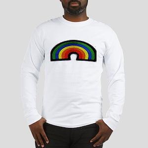 RAINBOW_MOSAIC_3Dlook Long Sleeve T-Shirt