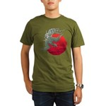 houou1 Organic Men's T-Shirt (dark)