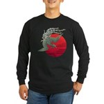 houou1 Long Sleeve Dark T-Shirt