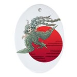 houou1 Ornament (Oval)