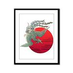 houou1 Framed Panel Print