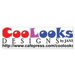 CooLooks Logo Sticker (Bumper 10 pk)