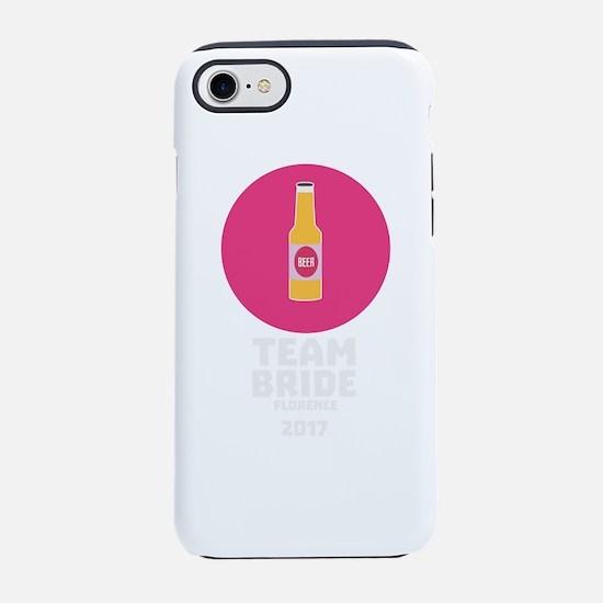 Team bride Florence 2017 Henpa iPhone 7 Tough Case