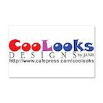 CooLooks Logo Car Magnet 20 x 12