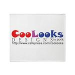 CooLooks Logo Throw Blanket