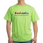CooLooks Logo Green T-Shirt