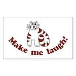 Make Me Laugh Rectangle Sticker