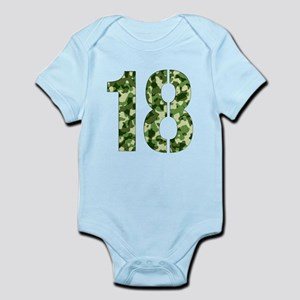 Number 18, Camo Body Suit