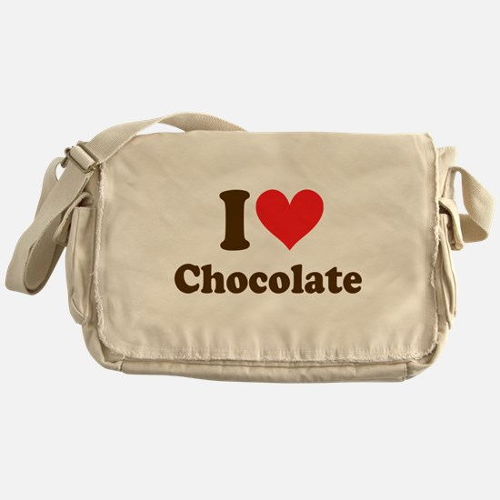 I Heart Chocolate: Messenger Bag