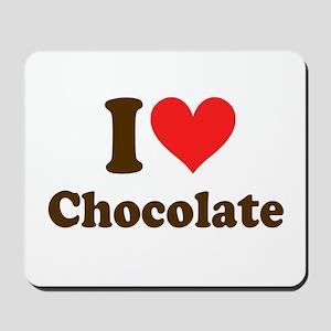 I Heart Chocolate: Mousepad