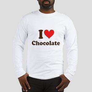 I Heart Chocolate: Long Sleeve T-Shirt