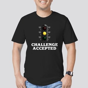 Challenge Accepted Men's Fitted T-Shirt (dark)